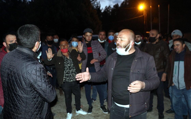 Köylüleri ayağa kaldıran taciz iddiası! Çok sayıda jandarma ekibi sevk edildi