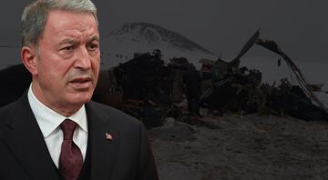 Bakan Akardan helikopter kazasına ilişkin ilk açıklama: Olumsuz hava şartları nedeniyle meydana geldiği değerlendiriliyor