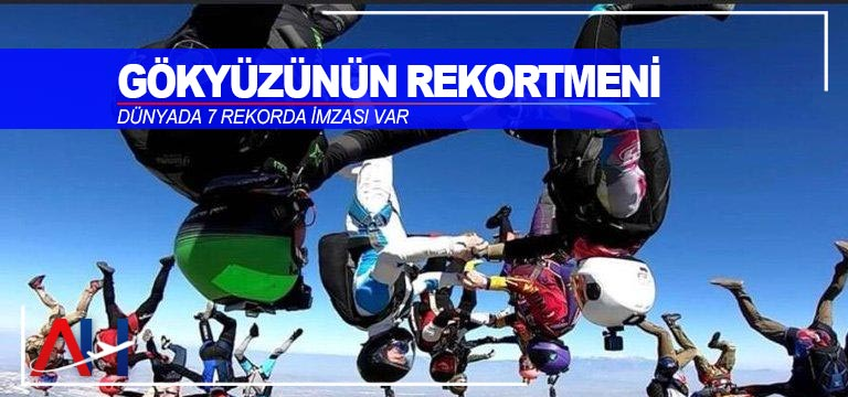 Kaan Özenmiş Ülkemizi uluslararası skydiving rekor denemelerinde temsil etti