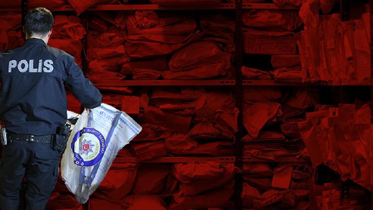 İstanbul Adalet Sarayı'nın emanet depoları görüntülendi! 19 oda içinde 200 bin delil...