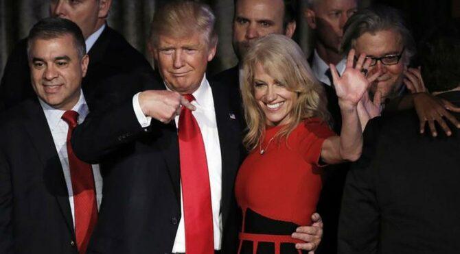 Trump'ın sırlarını sağ kolu Conway ortaya dökecek