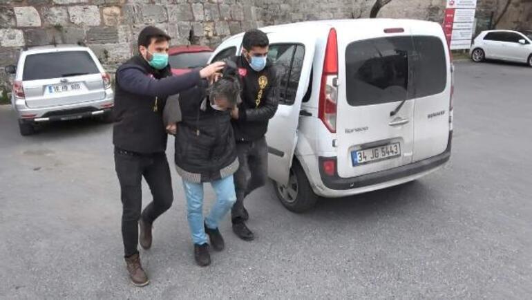 Markette iğrenç olay Kasiyer farketti, polise ihbar etti