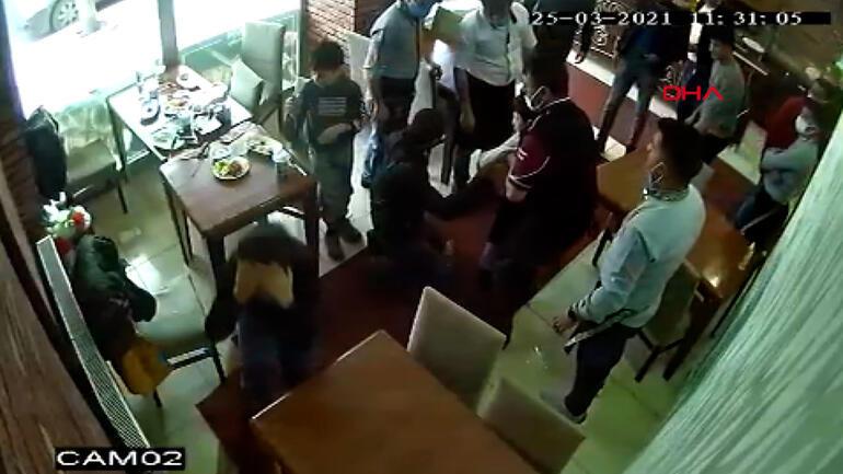 Restoranda korku dolu anlar Çocuk bir anda nefessiz kaldı, işletmeci kurtardı