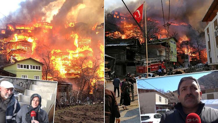 Felaketi yaşamışlardı... Köy halkından duygulandıran çağrı