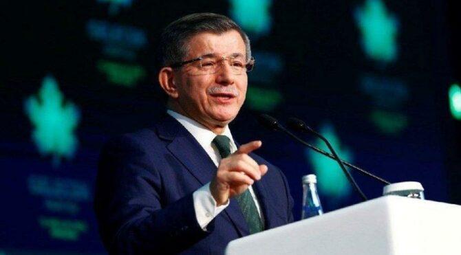 Ahmet Davutoğlu'ndan çarpıcı Ankara iddiası