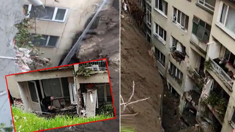 Bursa'da korku dolu anlar! İstinat duvarı büyük bir gürültüyle çöktü... Büyükşehir Belediye Başkanı'ndan ilk açıklama
