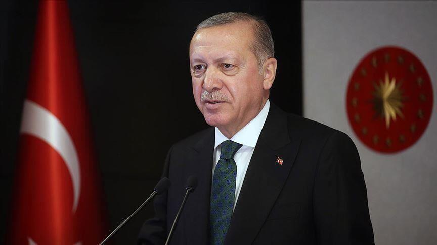 Cumhurbaşkanı Erdoğan: Afganistan'da barış sürecinin başarıya ulaşmasını diliyoruz