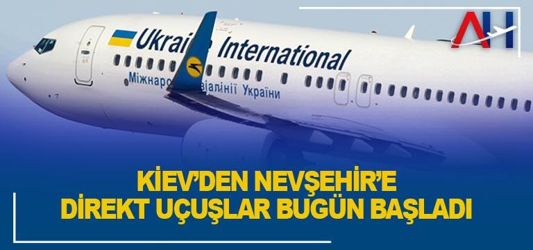 FlyUIA , Kiev'den Nevşehir Kapadokya'ya direkt uçuşlarına bugün başladı