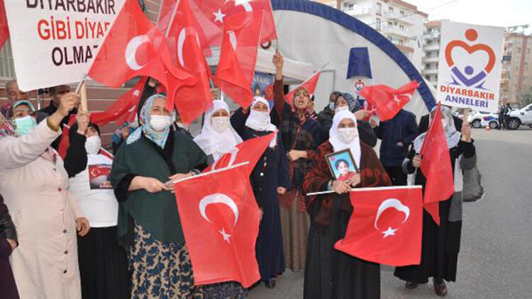 HDP önündeki eylemde 547'nci gün; aile sayısı 209 oldu