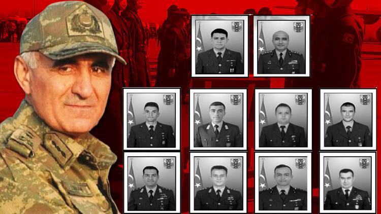 Kahramanlar için Ankara'da acı veda... Türkiye şehitlerini uğurluyor