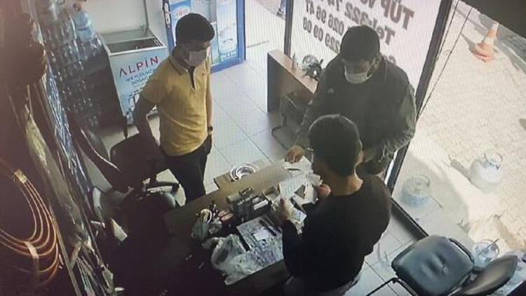 Kameradan belirlenen tırnakçılık şüphelisi 4 kişi yakalandı!