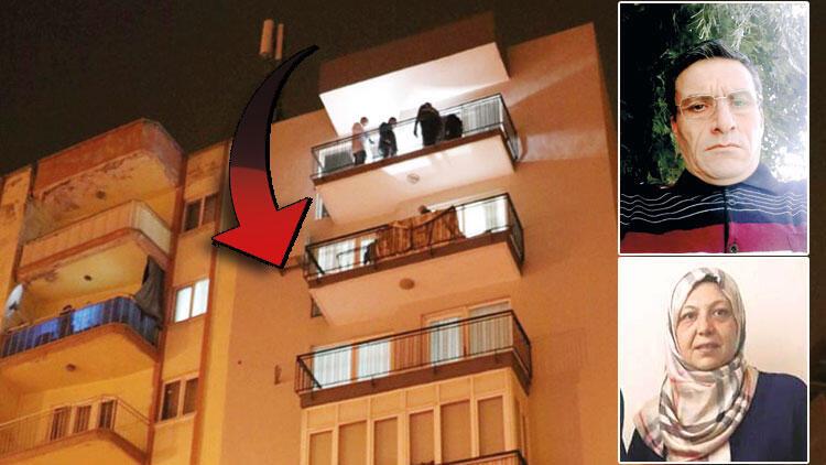 Korkunç plan! Çatıdan sarkıttığı iple 2 kat indi
