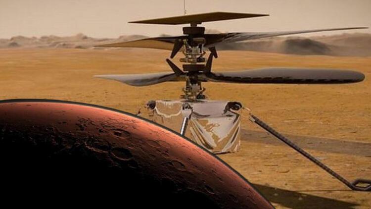 NASA, Nisan başında Kızıl Gezegen'de helikopter uçuracak