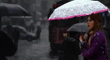Meteoroloji saat verdi Türkiye yağışlı havanın etkisi altına giriyor: Sağanak, kar...