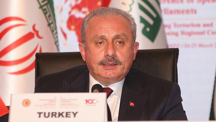 TBMM Başkanı Şentop'tan terörle mücadelede işbirliği çağrısı