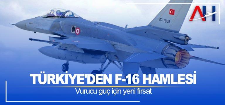 Türkiye'den F-16 hamlesi: Vurucu güç için yeni fırsat