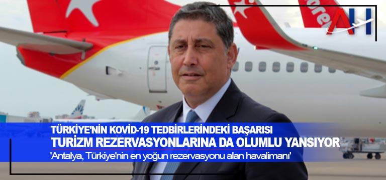 Türkiye'nin Kovid-19 tedbirlerindeki başarısı turizm rezervasyonlarına da olumlu yansıyor