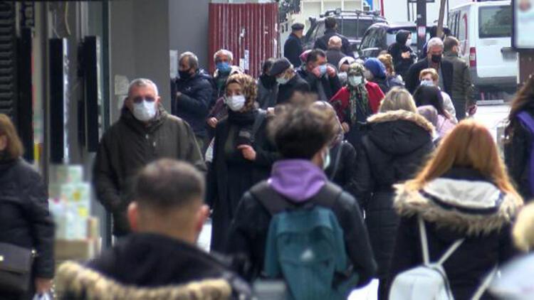 Vaka sayısında 3 haftadır zirvede olan Samsun'da cadde ve sokaklar dolu