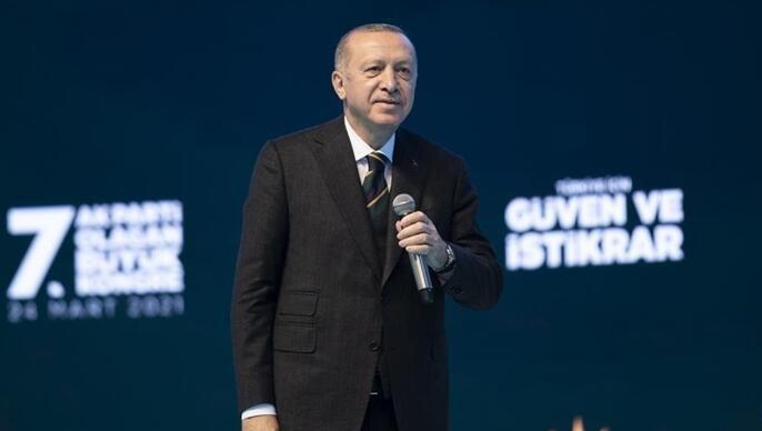 Yeniden genel başkan seçilen Erdoğan'a tebrik mesajları