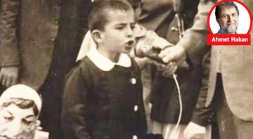 Ahmet Hakan yazdı: Bir zamanlar ben de 23 Nisan çocuğuydum