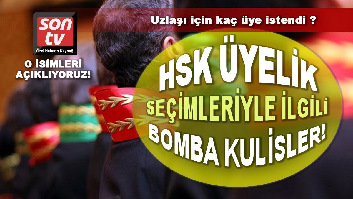 HSK seçimlerinde siyasi uzlaşma masada! Son TV açıklıyor   SON TV
