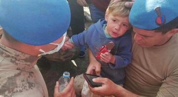 Tokatta kaybolan 2 yaşındaki Süleymandan iyi haber