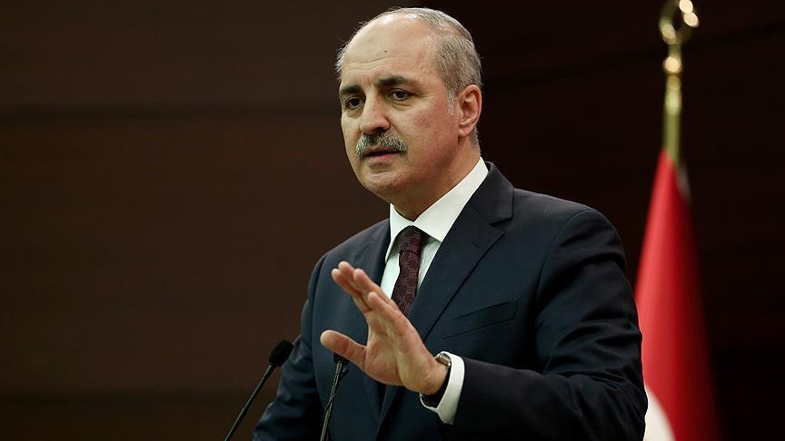AK Parti Genel Başkanvekili Kurtulmuş: 'Bizim şanlı tarihimizde Ermeni soykırımı yoktur ve asla olmamıştır!'