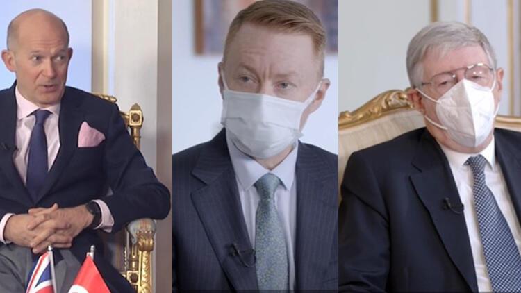 Büyükelçilerden Türkiye'nin salgınla mücadelesine övgü geldi
