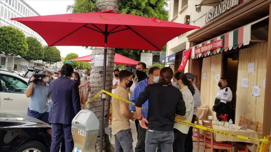 Los Angeles'taki Türk restoranına saldırdığı iddiasıyla Ermeni asıllı iki Amerikalıya dava açıldı