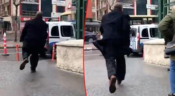 Tacizci hoca Burhan Dalğaliden yok artık dedirten yanıt Koşarak uzaklaştı