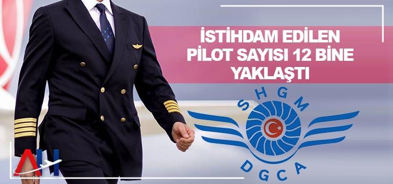 Türkiye'de istihdam edilen pilot sayısı yüzde 5,1 arttı