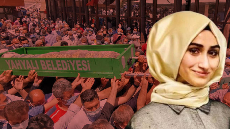 Kayseri'de öldürülen öğretmen Arife Nur Sarıoğlu'na acı veda! Gözyaşları sel oldu