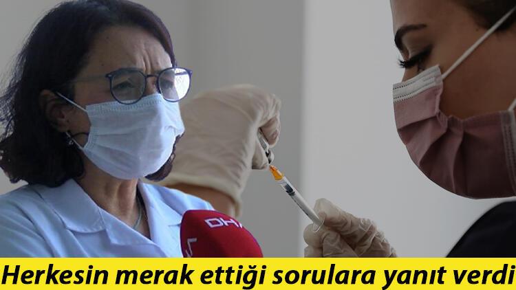 Bilim Kurulu üyesi Prof. Dr. Serap Şimşek Yavuz'dan üçüncü doz aşı açıklaması