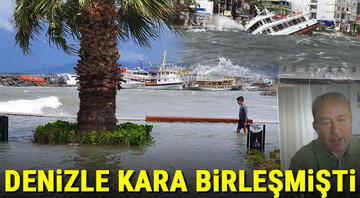 İzmir ve Balıkesir fırtına kâbusunu yaşamıştı Prof. Dr. Şen duyurdu: Şiddeti artarak göreceğiz