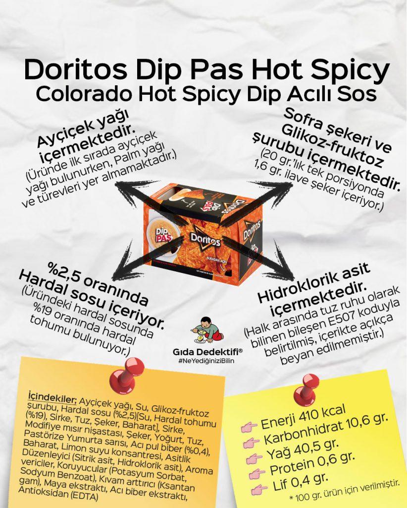 Doritos Dip Pas Hot Spicy - Gıda Dedektifi