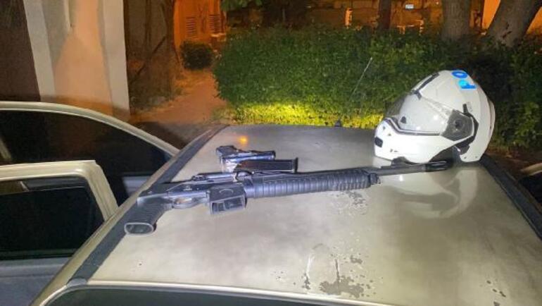 Kilometrelerce kaçış sonrası kıskıvrak yakalandılar Takmayayım mı dedi, polis protez dişini aradı
