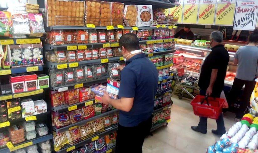 Kısıtlama gününde marketler açık kaldı Zonguldak Haber