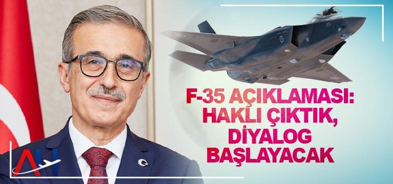 İsmail Demir'den F-35 açıklaması