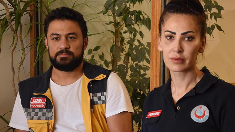 İzmir'de acil tıp teknisyeni kaza yerinde darp edildi