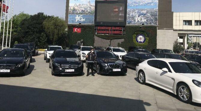 Lüks otomobil kaçakçılığı operasyonu: 24 araç ele geçirildi