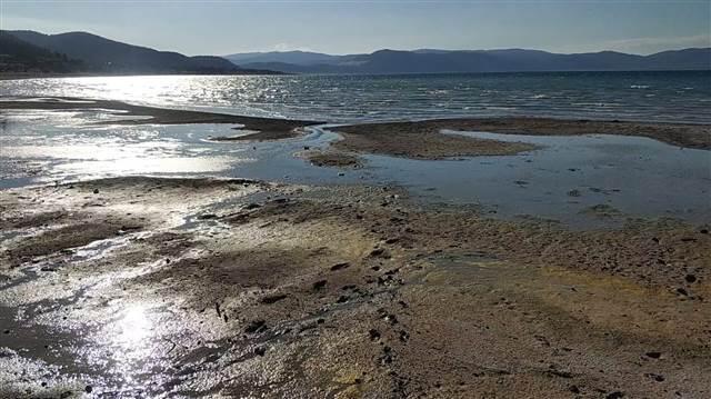 Salda Gölü'ndeki sarımtırak görüntüyle ilgili açıklama
