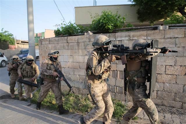 Şanlıurfa merkezli 4 ilde uyuşturucu operasyonunda 13 şüpheli yakalandı
