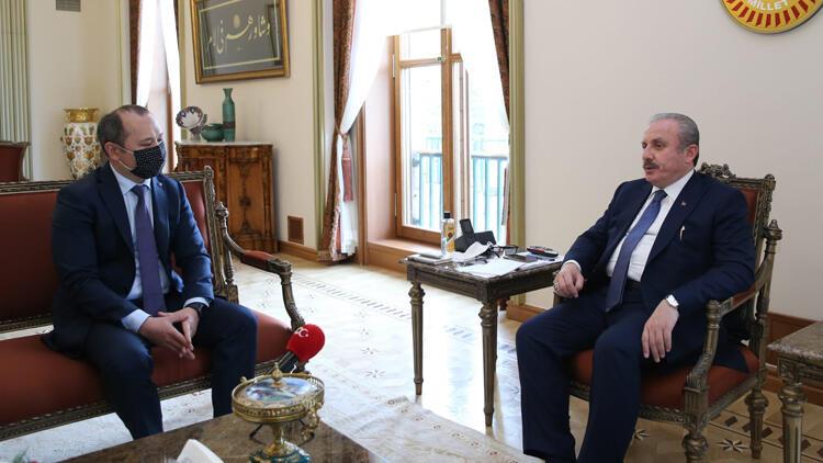 TBMM Başkanı Şentop: Tacikistan ve Kırgızistan arasındaki sorunun çözülmesini istiyoruz