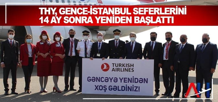 THY'nin Gence-İstanbul seferleri 14 ay sonra yeniden başladı