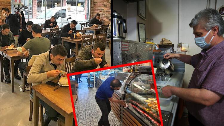 'Normalleşme' kararının ardından restoran ve kafeler birer birer açılıyor