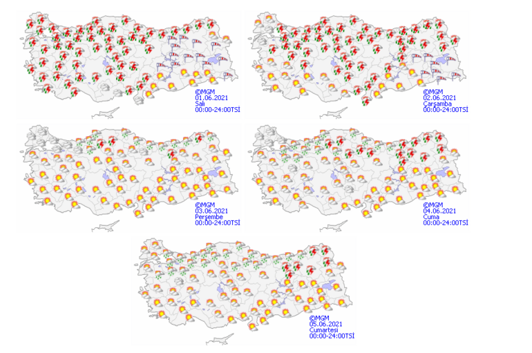 Son dakika: Meteorolojiden İstanbul dahil çok sayıda kent için sağanak uyarısı