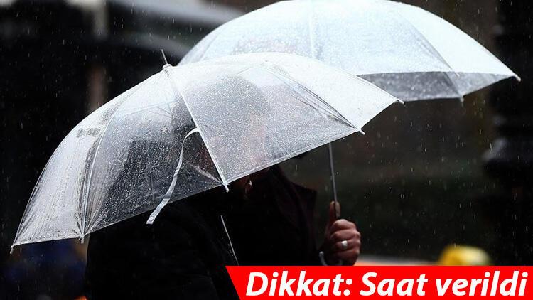 Son dakika: Meteoroloji'den İstanbul dahil çok sayıda kent için sağanak uyarısı!