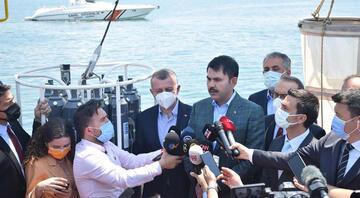 Bakan Kurumdan Marmara Denizi ve deniz salyası için önemli açıklama..