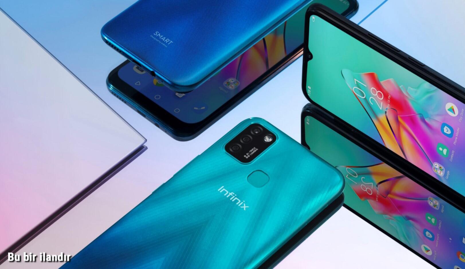 Infinix Türkiye'de üretilen yeni şık telefonu SMART 5'i satışa sunuyor