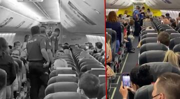 Antalya-İstanbul uçağını karıştıran taciz iddiası